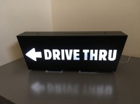 Drive Thru Light Box