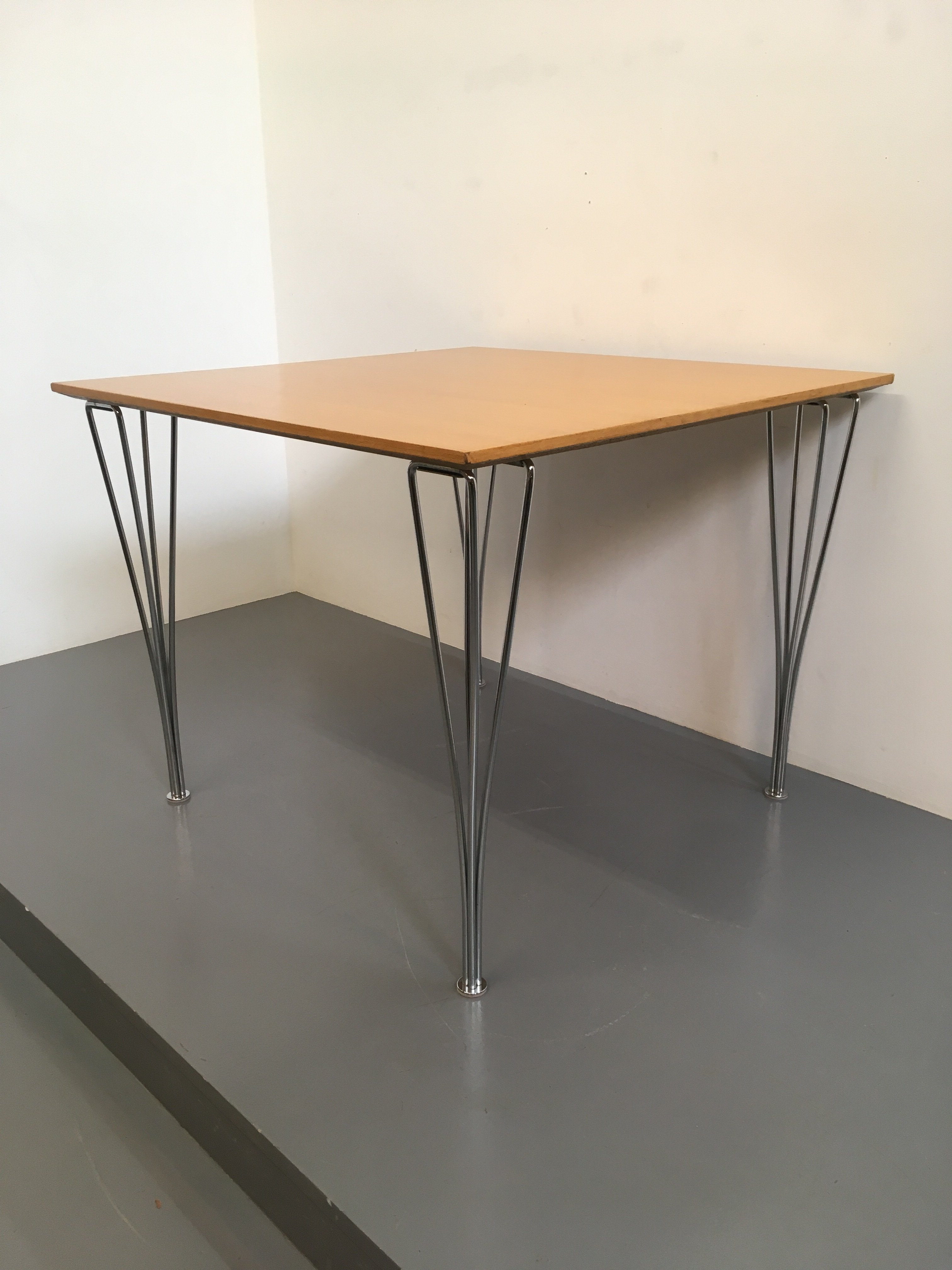Fritz Hansen Square Span Leg Table