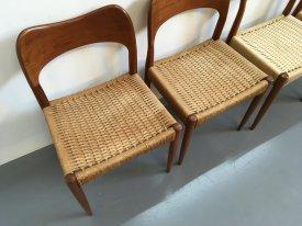 Arne Hovmand Olsen Dining Chairs