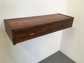 Rosewood Wall Mounted Console