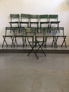 French Folding Chairs