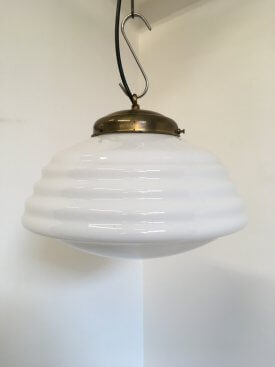 Tapered Beehive Opaline Pendant