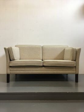 Cream Wool Sofa