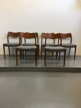 Niels Moller Teak Chairs