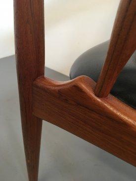 Johannes Andersen Teak Elbow Rest Chair