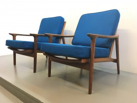 Guy Rogers New York Lounge Chairs