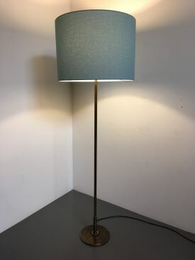 Brass Extending Standard lamp