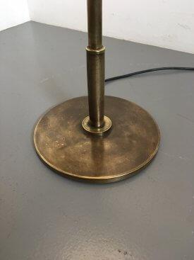 Brass Extending Standard lamp