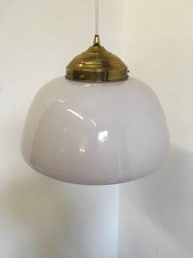 Semi-Opaline Glass Pendant