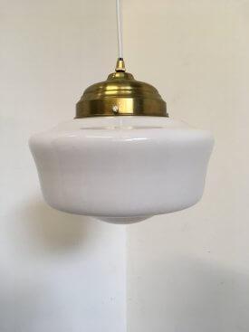 Schoolhouse Opaline Pendant