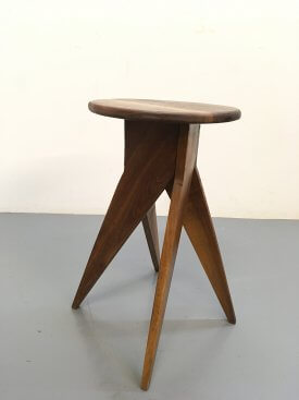 French Rustic Stool