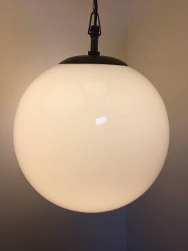 Opaline Globes