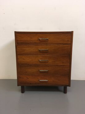 Rosewood 5 Drawer Chest