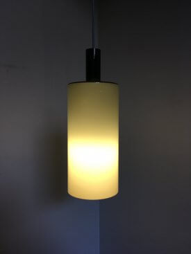 Grey Fog & Morup Glass Pendant