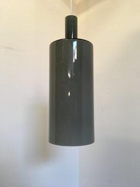 Grey Fog & Morup Glass Pendant