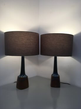 Pair of Einar Johansen Table Lamps