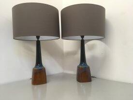 Pair of Einar Johansen Table Lamps