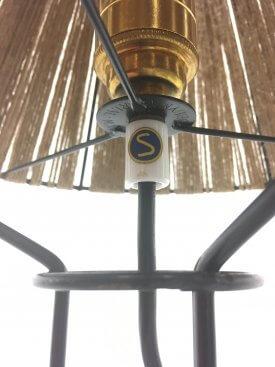 Danish Strung Table Lamp