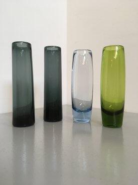 Holmegaard Straight Glass Vases