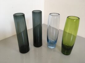 Holmegaard Straight Glass Vases
