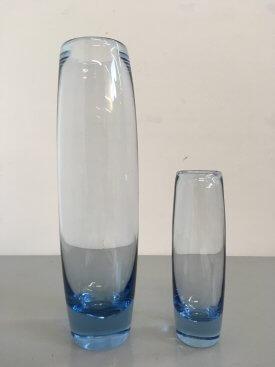 Large Holmegaard Torpedo Vase