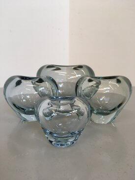Holmegaard Heart Vases