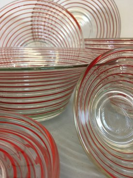 1930's Brøkso Glassware
