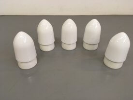 Opaline & Ceramic Wall Mounted Bullets