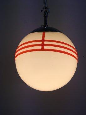 Deco Opaline Globe