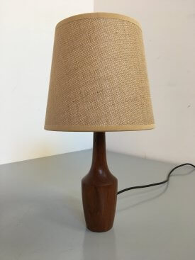 Danish Teak Bottle Lamp