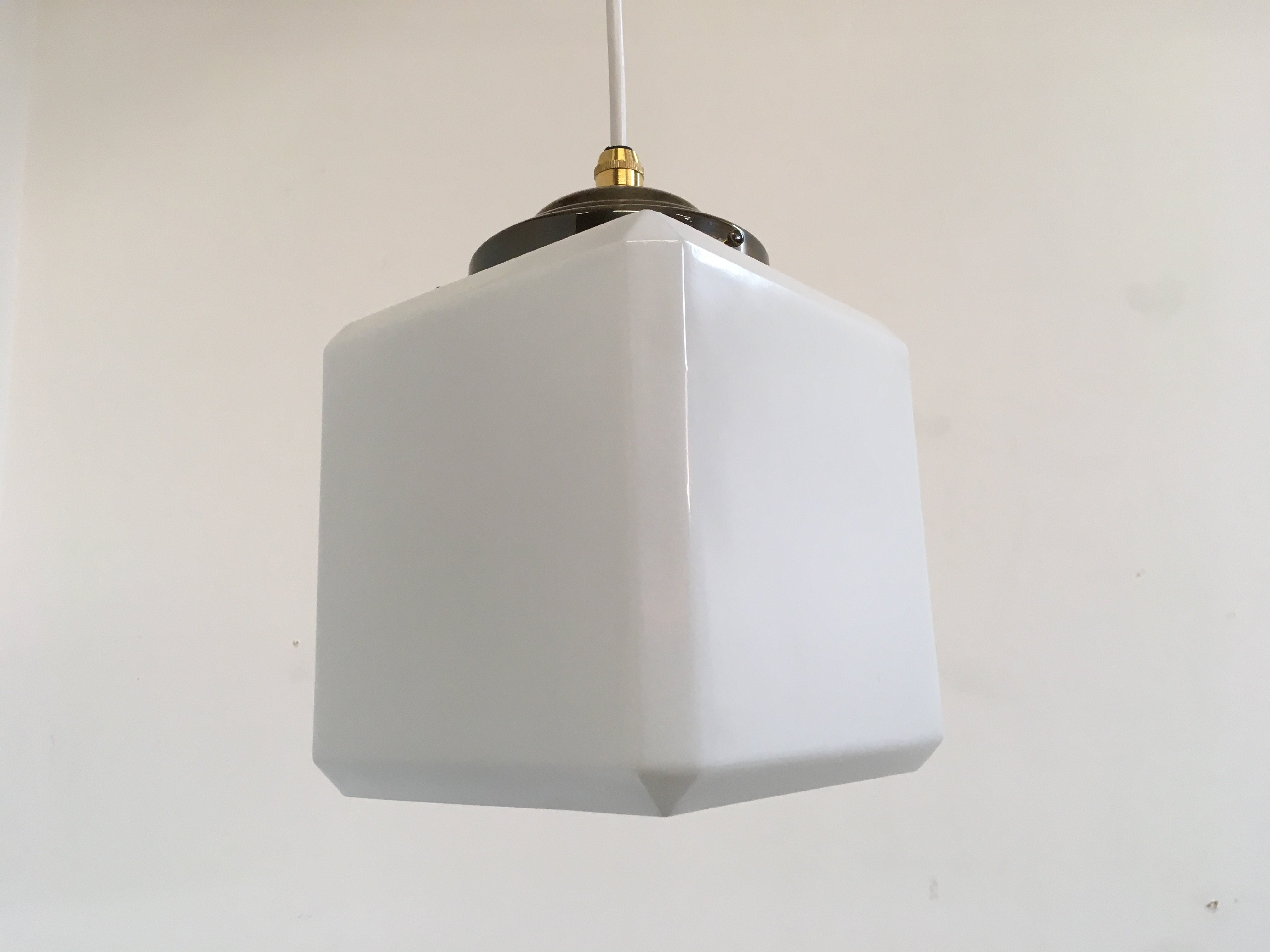 Danish Cube Opaline