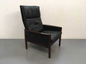 Hans Olsen Rosewood High Back Chair