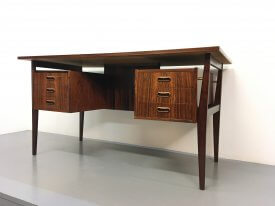 Danish Floating top Rosewood Desk
