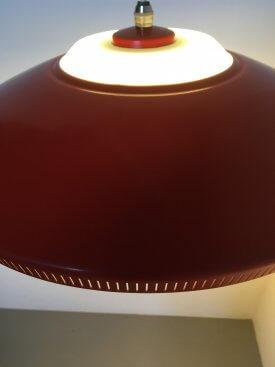 Lyfa Scarlet Perforated Pendant