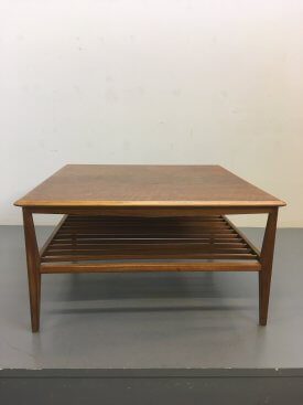 British Walnut Coffee Table