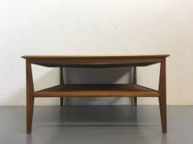 British Walnut Coffee Table