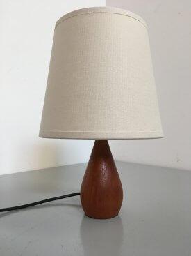 Danish Petite 'Pear' Table Lamp