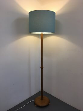 British Oak Standard Lamp