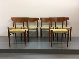 Set of 6 AM Møbler Chairs