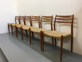 Niels Møller Dining Chairs