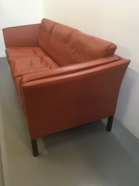 Stouby Cognac Leather Sofa
