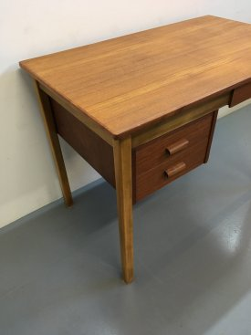 Danish Teak & Beech Desk