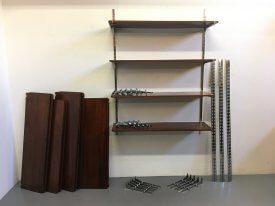 1930's French Ex-Retail Shelving