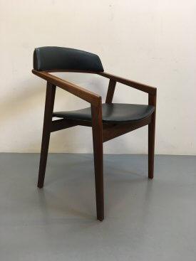 Danish Sloped Arm Chair