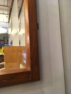 Large British Over Mantle Mirror