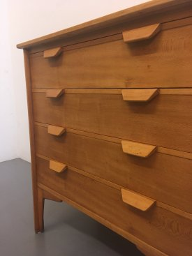 British Birch Chest