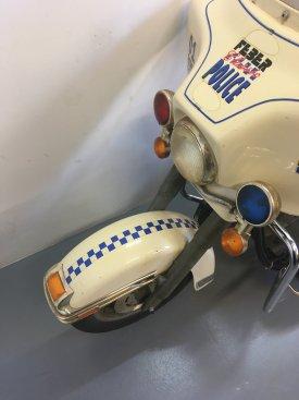 Harley Davidson Electra Glide Police Bike