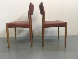Ejnar Larsen & Aksel Bender Madsen Leather Chairs
