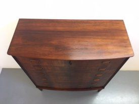 Danish Bow Front Chest