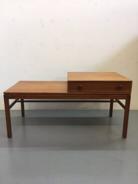 Swedish Teak Hall Table